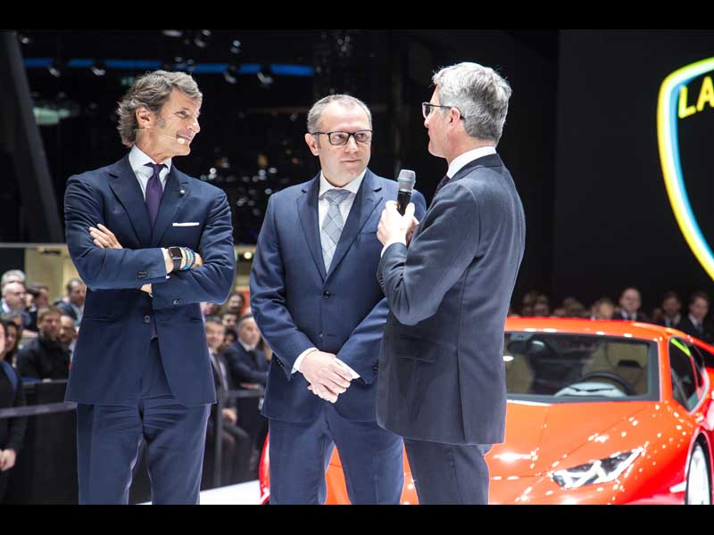 Stephan Winkelmann, Stefano Domenicali, Rupert Stadler