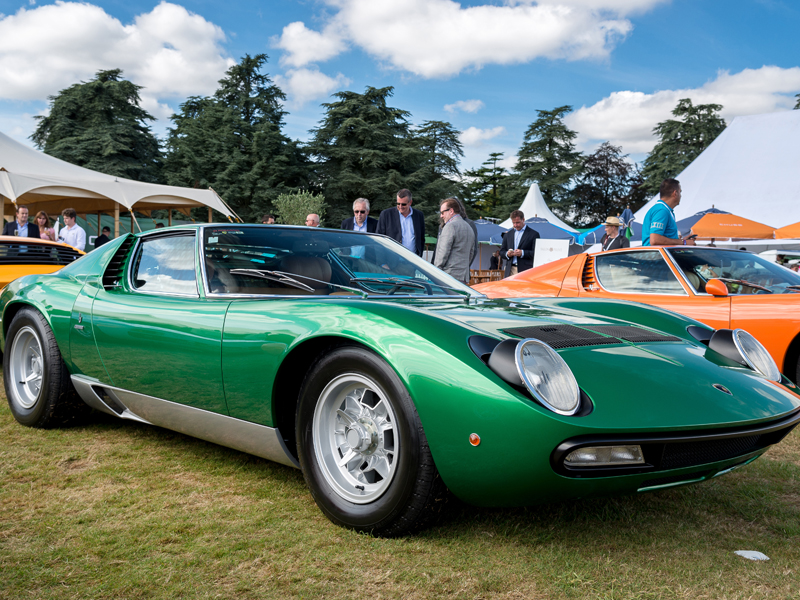 Miura SV at Salon Privé 2016