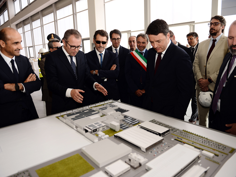 S. Domenicali illustrates the expansion for the SUV production