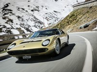 "The Lamborghini Miura celebrates its 50th anniversary ""The Italian Job"" reloaded"