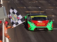 Stunning double victory for Barwell Motorsport's Lamborghini Huracán GT3 at British GT Championship