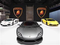 Automobili Lamborghini at the Auto China 2014 in Beijing -- NEW VIDEOS AVAILABLE