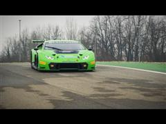 World premiere of Lamborghini Huracán GT3 by Automobili Lamborghini