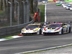 Patrick Kujala scores double. The Bonaldi Motorsport Finnish driver wins Race Two in Monza Lamborghini Blancpain Super Trofeo