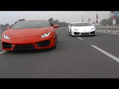 DRIVER'S HIGH, the new Lamborghini Huracán rear wheel drive Global Dynamic Launch in Doha, Qatar