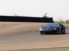 Lamborghini Centenario Tested at NTC – Nardò Technical Center – First Dynamic Video