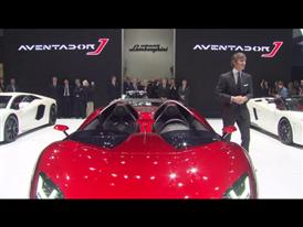 Lamborghini Press Conference at 2012 Geneva Motorshow