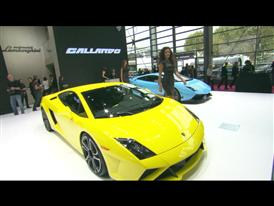 New Lamborghini Gallardo LP 560-4 at Paris Motorshow