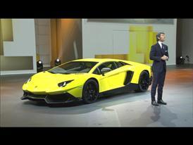 Aventador LP 720-4  50° Anniversario – Worldwide Premiere