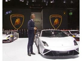 Lamborghini Press Conference at 2013 Frankfurt Motorshow
