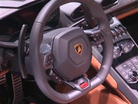 New Lamborghini Huracán LP 610-4 Spyder - Interiors