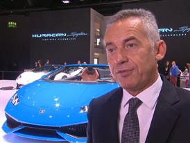 Maurizio Reggiani, Director for R&D, introduces the New Lamborghini Huracán LP 610-4 Spyder (English)