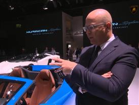 Filippo Perini, Head of Design, highlights the Features of The New Lamborghini Huracán LP 610-4 Spyder (English)