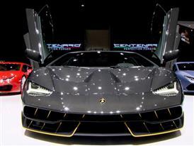 New Lamborghini Centenario
