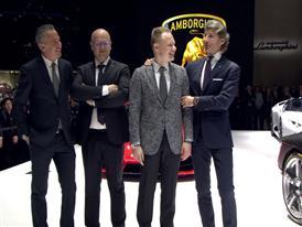Lamborghini Press Conference at 2016 Geneva Motor Show