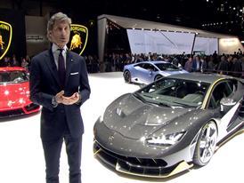 Stephan Winkelmann, President and CEO of Automobili Lamborghini (Italian)