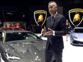Maurizio Reggiani, Director for Research and Development, introduces the New Lamborghini Centenario (Italian)