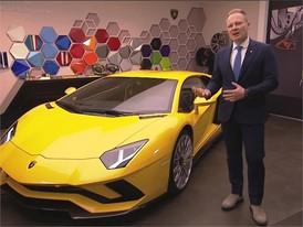 Mitja Borkert, Director of Centro Stile, presents the new Lamborghini Aventador S (English)