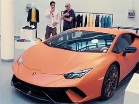 Collezione Automobili Lamborghini Milano Moda Uomo giugno 2017