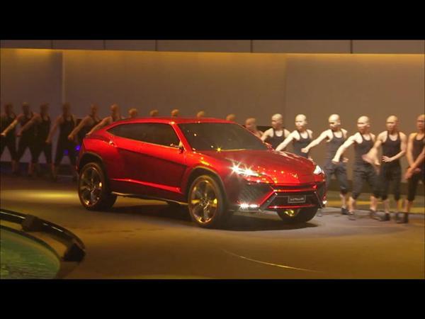 Lamborghini Urus at 2012 Beijing international Auto Show