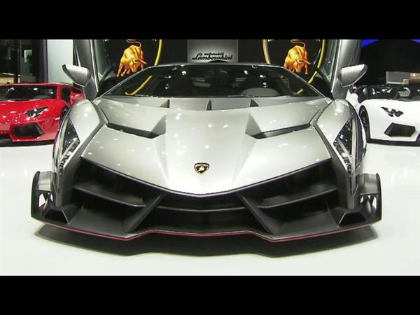 New Lamborghini Veneno at 2013 Geneva Motorshow