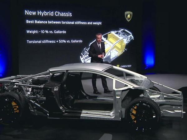 Maurizio Reggiani, Board Member for Research and Development, introduces to the secrets of the New Lamborghini Huracán