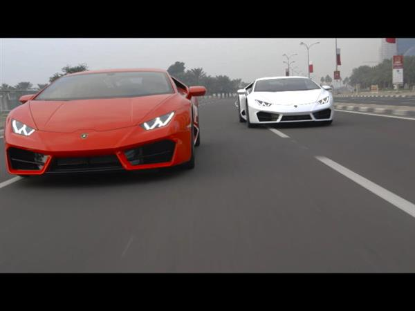Lamborghini Huracán LP 580-2 - DRIVER'S HIGH - DOHA
