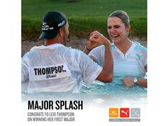 COBRA PUMA GOLF Athlete Lexi Thompson Wins The Kraft Nabisco Championship