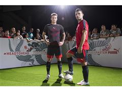 Reus and Agüero go Head to Head with the Deadly evoSPEED 1.3 Graphic