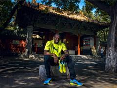Usain Bolt Returns To Beijing in Confident Mood