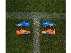 Next Era Of PUMA Duality Boots Now On Pitch In Striking Orange And Blue