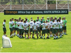Team Algeria at the Africa Cup of Nations 2013_02