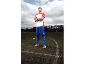 Gael Clichy in the latest evoSPEED 1 FG colourway