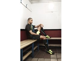 Gael Clichy wears the new PUMA evoSPEED 1.2 FG
