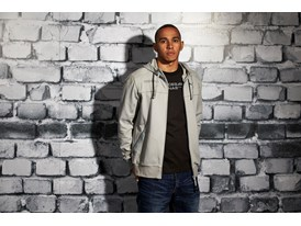 Lewis Hamilton Wears the SS13 PUMA MERCEDES AMG PETRONAS Lifestyle Collection - Image 006