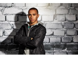 Lewis Hamilton Wears the SS13 PUMA MERCEDES AMG PETRONAS Lifestyle Collection - Image 008