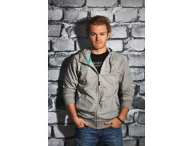 Nico Rosberg wears the SS13 PUMA MERCEDES AMG PETRONAS Lifestyle Collection - Image 003