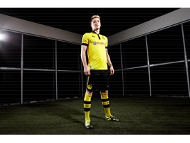 Marco Reus wears the new PUMA PowerCat 1 FG