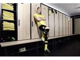 PUMA UNVEILS NEW BVB HOME SHIRT FOR 2013/14 SEASON- Marco Reus