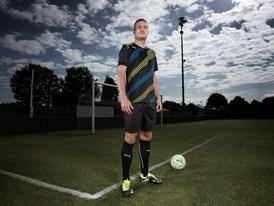 New Imagery Available :Nemanja Vidic wears the latest PUMA PowerCat Football Boots