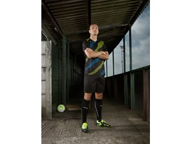 New Imagery Available :Nemanja Vidic wears the latest PUMA PowerCat Football Boots