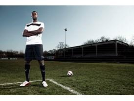Yaya Touré wears the latest PUMA King Football Boots