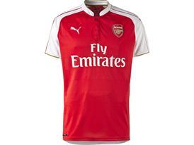 PUMA 2015-16 Arsenal Home Replica Shirt Front