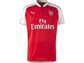 PUMA 2015-16 Arsenal Home Replica Shirt Front Low Res