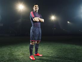 Sergio Aguero wears the new PUMA evoSPEED SL Football Boot_2