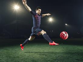 Sergio Aguero wears the new PUMA evoSPEED SL Football Boot_5