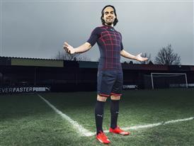 Radamel Falcao wears the new PUMA evoSPEED SL Football Boot_5