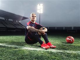 Antione Griezmann wears the new PUMA evoSPEED SL Football Boot_6