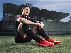 Marco Verratti wears the new PUMA evoSPEED SL Football Boot_6