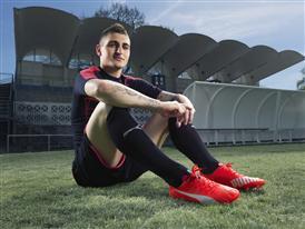 Marco Verratti wears the new PUMA evoSPEED SL Football Boot_7